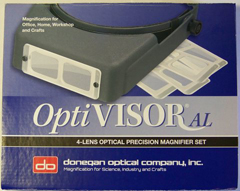 Optivisor AL Acrylic Magnifier Set